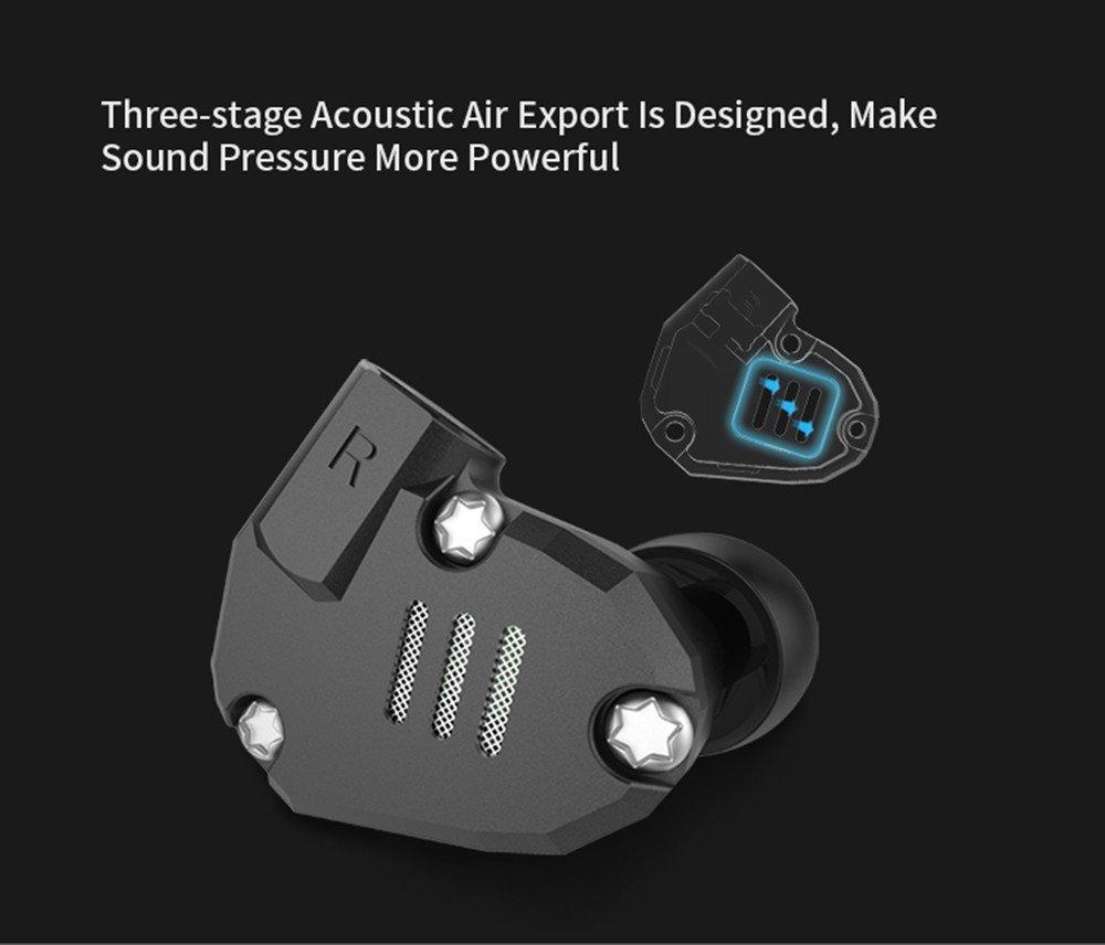 Amazon.com: 8 Unidades la tecnología híbrida Auriculares KZ ...