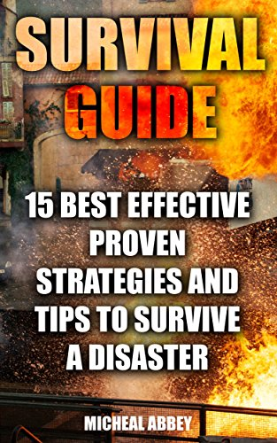 Survival Guide: 15 Best Effective Proven Strategies And Tips To Survive A Disaster: (Home Defense, Foraging, Economic Collapse, Bug out bag, Bushcraft, ... (Survive in the Forest, Survival Skills) by [Abbey, Micheal]