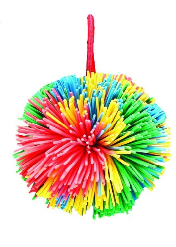 sportime Rub R String Ball, Multiple Color, 2-1/2