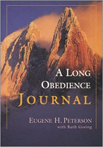 Book A Long Obedience Journal