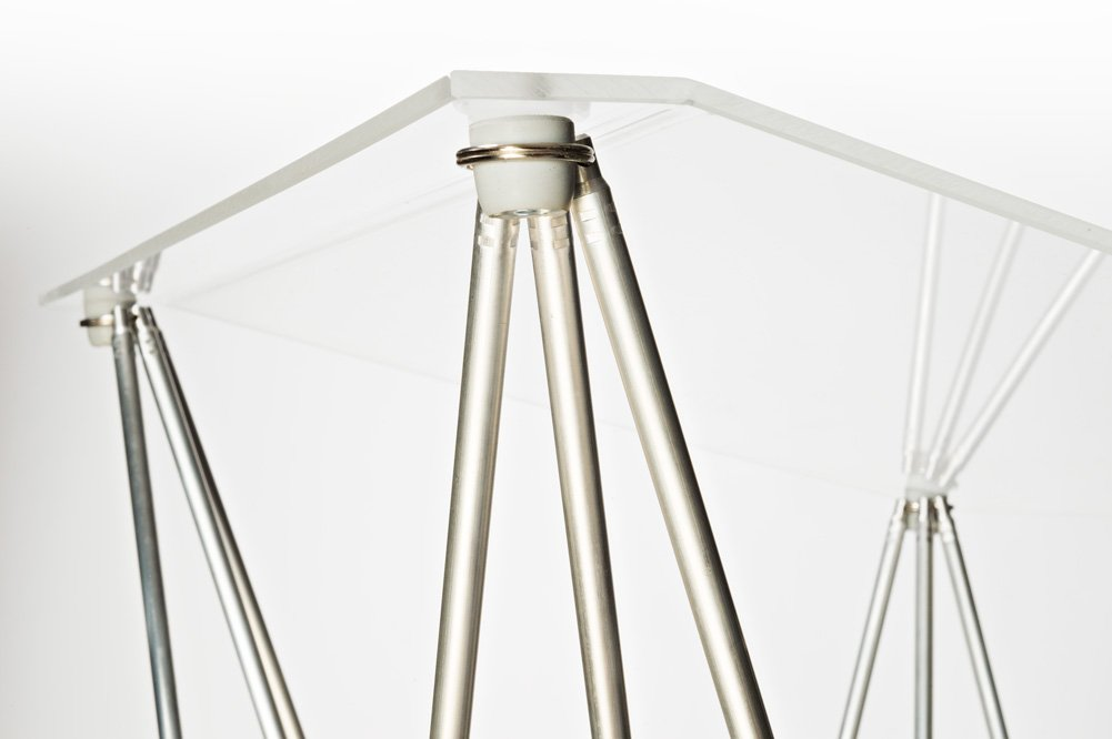Spider folding lectern acryl glass clear Spider GmbH 16660