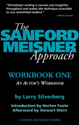 Books On Acting in Amazon Store - The Sanford Meisner Approach: An Actor's Workbook (Career Development Book)