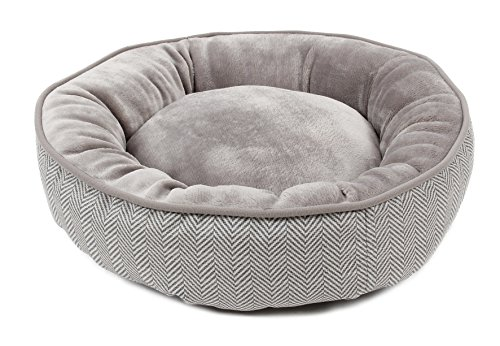 Cheap Orchid Stone Short Plush Pet Bed for Cats or Small Medium and Mid-Large Sized Dogs