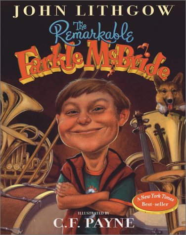 Book cover from The Remarkable Farkle McBride by John Lithgow