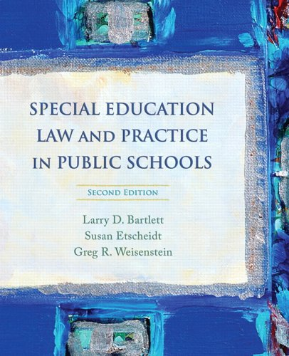 Pdf Teaching Special Education Law and Practice in Public Schools (2nd Edition)