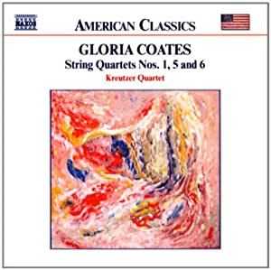 Gloria Coates Music On Open Strings String Quartets Nos 1 2 4