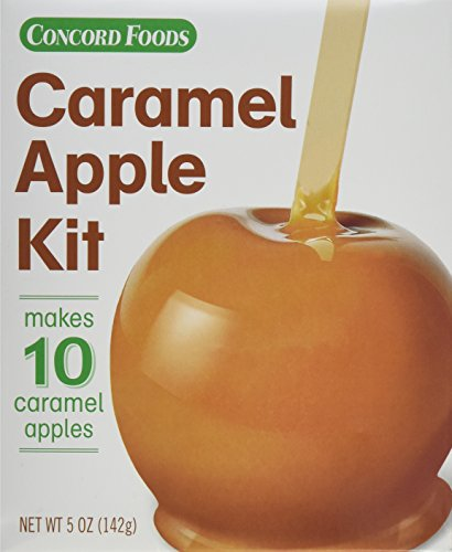 (Concord Confections Caramel Apple Kit, 5 oz, 2 Count )