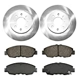 Prime Choice Auto Parts RSCD4297-4297-465A-2-4 Front Set of 2 Brake Rotors & 4 Ceramic Pads