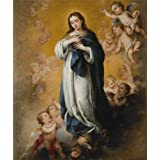 Canvas Prints Of Oil Painting ' Bartolome Esteban Murillo,Virgin Of The Immaculate Conception,1670 ' , 20 x 24 inch / 51 x 61 cm , Polyster Canvas, Dining Room, Home Theater And Nursery Decoration