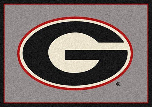 Georgia College Team Spirit Area Rug by Milliken, 7'8