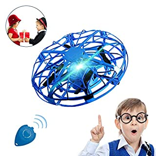 UFO Drones for Kids,Hover Drone Toy Drones for Indoors with LED Light 360° Hover Toy for Boys Girls Family Indoor Interactive Game Gift.