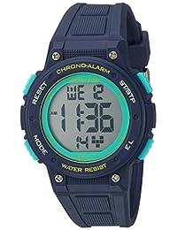 Armitron Sport Women's 45/7086NVY Digital Chronograph Navy Blue Resin Strap Watch