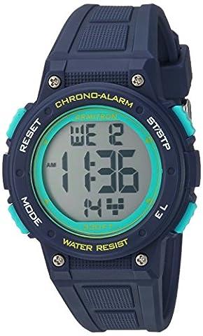 Armitron Sport Women's 45/7086NVY Digital Chronograph Navy Blue Resin Strap Watch (Sport Watch Ladies)