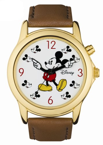 "Disney Midsize MU2550-MT Musical ""Mickey Mouse March"" Motion Hands Watch"