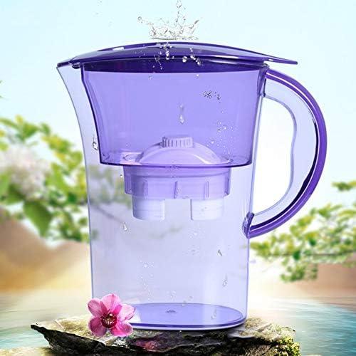Silverdrew Filtro de Agua Jarra Hervidor de Agua con Cartucho de Filtro de Recarga Carb/ón de Agua Activado Hervidor de Agua Purificador de vajilla para el hogar