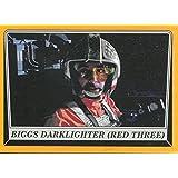 Star Wars Rogue One Mission Briefing Orange Base Card #89 Biggs Darklighter