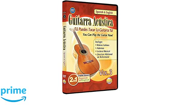 3: You Can Play the Guitar Now / Guitarra Acustica, Vol. 3: Tu Puedes Tocar La Guitarra Ya (2-in-1 Bilingual Series): Rogelio Maya: Movies & TV