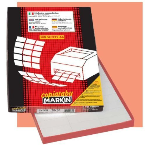 Markin Cf400 Etichette 105X148 210C519