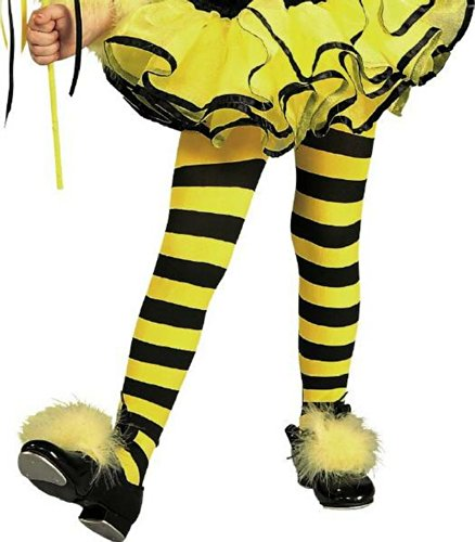 Costume Bee Toddler Halloween Bumble (Bumble Bee Tights Toddler Costume Accessory -)