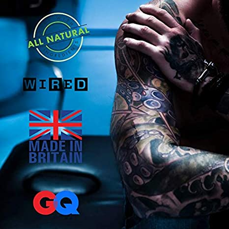 Bálsamo protector para cuidado tatuaje - Modern Day Duke ungüento ...