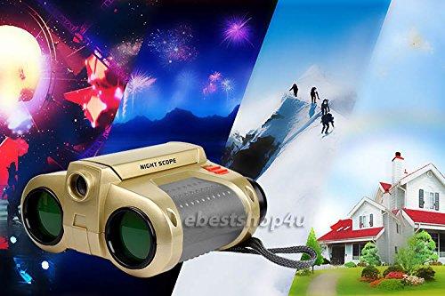 Kids Childrens Night Vision Secret Super Spy Cool Binocular
