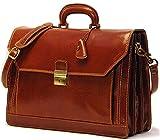 [Custom]Floto Mens Venezia Briefcase Attache in Brown