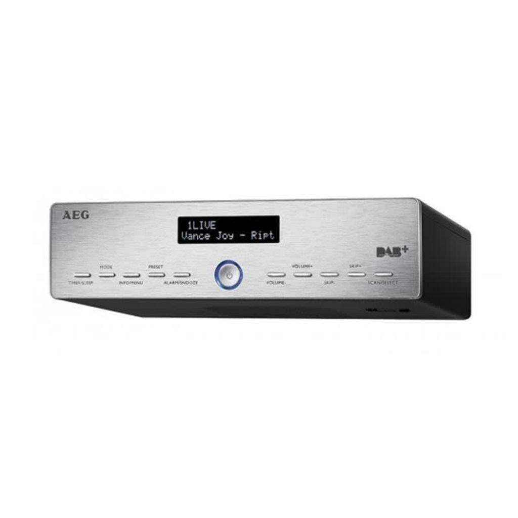 AEG KRC 4368 DAB+/PLL-RDS-UKW-Radio, 20 Senderspeicher, LCD-Display ...