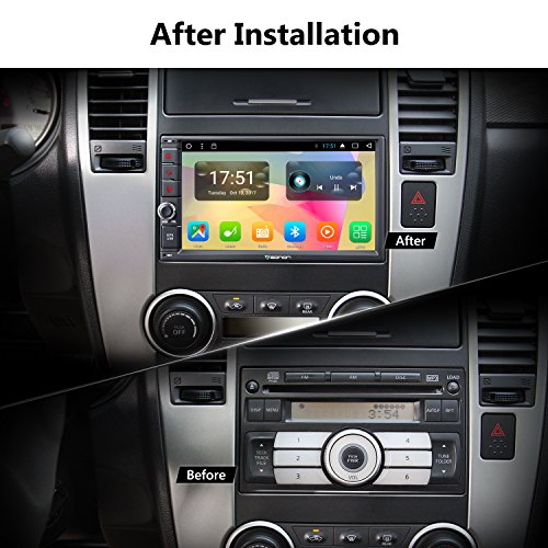 Eonon GA2167 Car Stereo Radio Universal Double Din, Android 7 1 Nougat 7  Inch Octa-Core Car GPS Navigation System,2GB RAM 32GB ROM Head Unit with