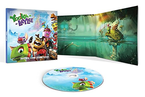 Price comparison product image YOOKA-LAYLEE Deluxe Official Game Soundtrack Picture CD
