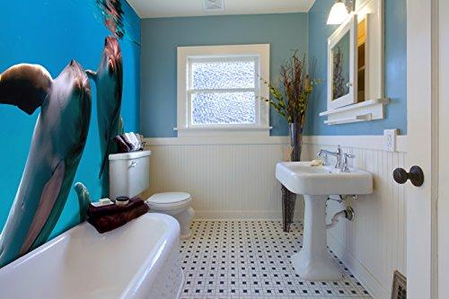 3d Pvc Fußboden ~ Ruvitex d belag dekor boden badezimmer vinyl pvc teppich