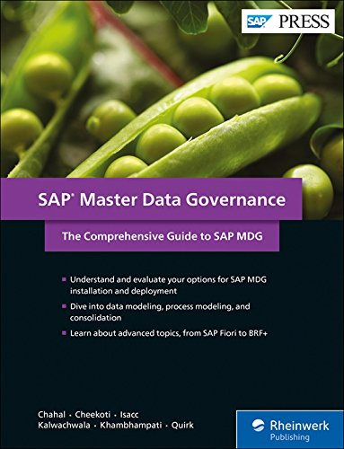 SAP MDG (Master Data Governance): The Comprehensive Guide (SAP PRESS)