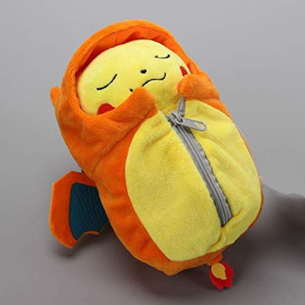 INGFBDS Juguete de Peluche Nuevo Pikachu Cosplay eevee Bata Saco de Dormir Juguete de Peluche muñecas Suaves de Dibujos Animados 25 cm: Amazon.es: Hogar