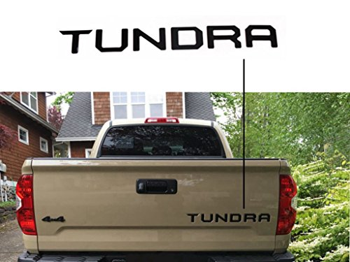 Toyota Tundra Tailgate Letter Matte Decal Cover for Tundra 2014 2015 2016 2017 2018 - Pickup Tailgate Letters