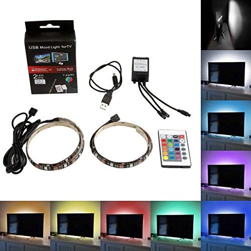 SUPERNIGHT LED Light Strip, [White, RGB, RGB+White Color, All In One Strip] Flexible 16.4ft SMD5050 DC12V 300Leds...