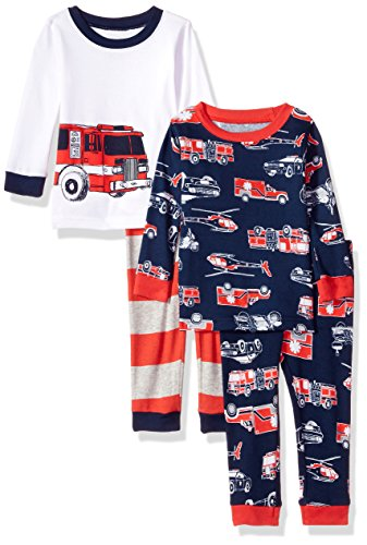 Carter's Baby Boys' 4 Pc Cotton 321g244, Print, 6 Months by Carter's