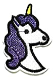 Nipitshop Patches Unicorn Horse Patch White Horse
