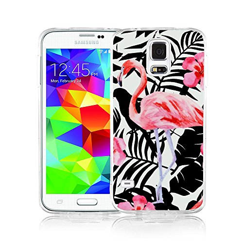 Samsung S5 Case, Galaxy S5 Case, Viwell Design Pattern Case, High Impact Protective Case for Samsung Galaxy S5 Case Pink - S5 Dollar For Galaxy Cases