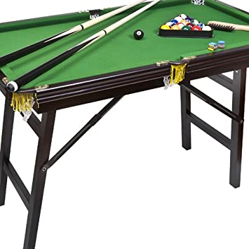 Superb Bello Games New York, Deluxe Folding Pool Table EXTRA LARGE 44u0026quot;