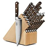 Lamson Signature 18-piece Beechwood Knife Block Set