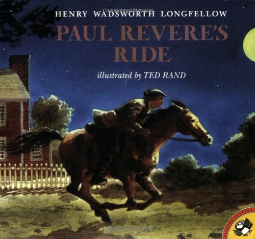 Paul Revere's Ride (Henry Wadsworth Longfellow Best Poems)