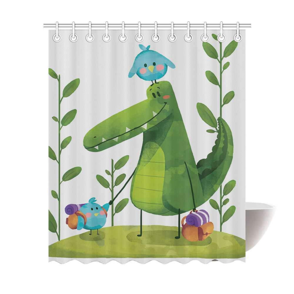 Pleasing Amazon Com Wokfox Personalized Cute Little Dinosaur Download Free Architecture Designs Jebrpmadebymaigaardcom