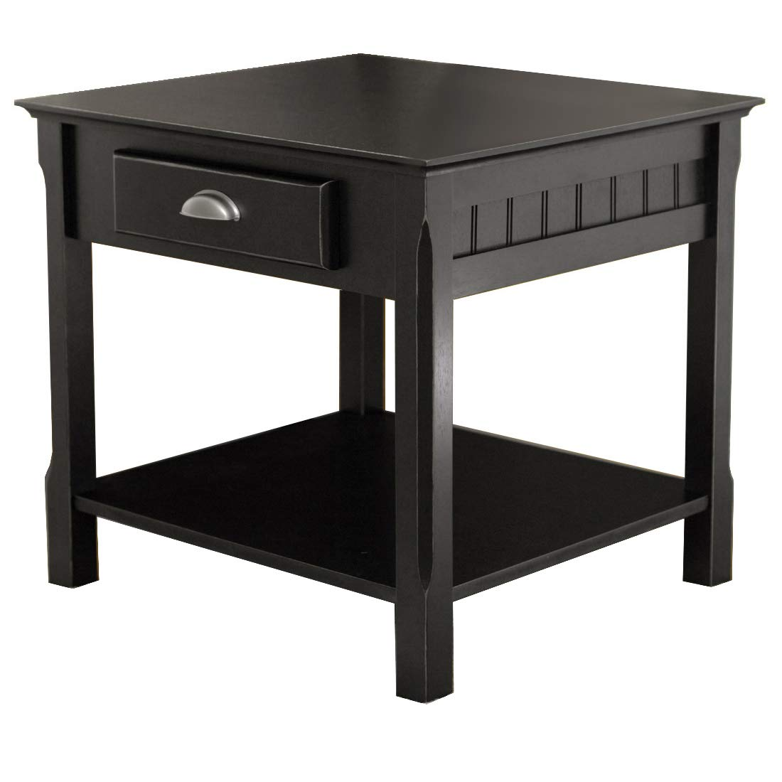Winsome Wood 20124 Timber Occasional Table Black