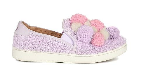 UGG - Ricci Pom Pom para Mujer, Blanco (Lavanda (Lavender Fog)), 37.5 EU: Amazon.es: Zapatos y complementos