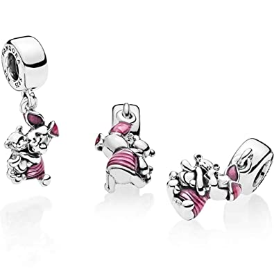 552607dfb Pandora Disney Winnie the Pooh Piglet Pink Charm Dangle S925 ALE:  Amazon.co.uk: Jewellery