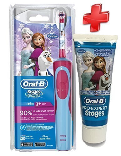 Kit completo de dientes Oral B-Brosse Stages Power niños de La reina de las