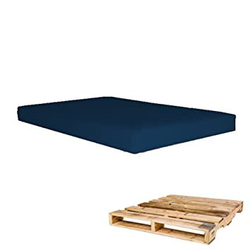 Arketicom Pallett One - Asiento Cojin para Sofa hecho en Euro Palet - Polipiel con Funda Desenfundable y Espuma de Poliuretano ...