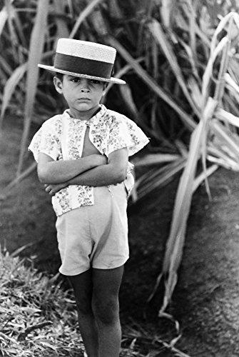 Puerto Rico Boy 1941 Nfarm Boy Along The Road Near Corozal Puerto Rico Photograph By Jack Delano December 1941 Poster Print by (24 x 36)