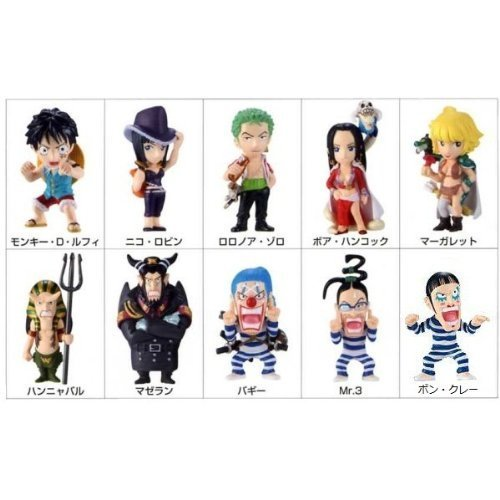 Candy Piece collection sneak !! Impel Down !! secret containing all 10 species set