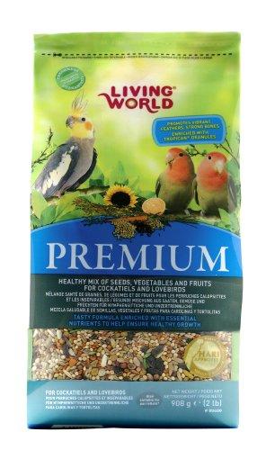 Living World Cockatiels and Lovebirds Premium Mix, 4.4-Pound, My Pet Supplies