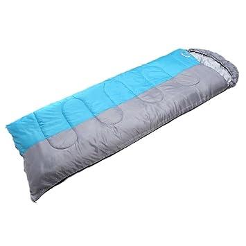 SHUIDAI acampar al aire libre del almuerzo romper el saco de dormir adultos gruesa acampar cálido saco de dormir , 1: Amazon.es: Deportes y aire libre